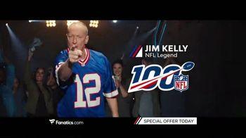Fanatics.com TV Spot, 'NFL Commemorating Its 100th Season' - Thumbnail 4