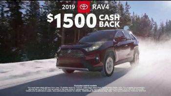 Toyota AWD Season TV Spot, 'Be Ready' Featuring Ethan Erickson, Danielle Demski [T2] - 1 commercial airings