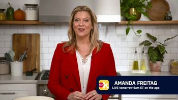 Food Network Kitchen App TV Spot, 'Amanda Freitag Goes Live' - 2 commercial airings