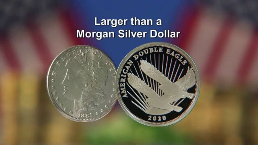 National Collector's Mint Silver Double Eagle $2 Coin TV Commercial, 'The 2020 Public Release'