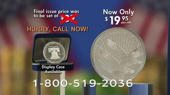 National Collector's Mint Silver Double Eagle $2 Coin TV Spot, 'The 2020 Public Release' - Thumbnail 10