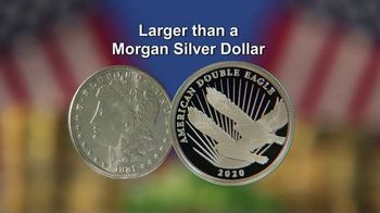 National Collector's Mint Silver Double Eagle $2 Coin TV Spot, 'The 2020 Public Release'