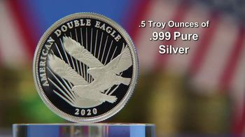 National Collector's Mint Silver Double Eagle $2 Coin TV Spot, 'The 2020 Public Release' - Thumbnail 7