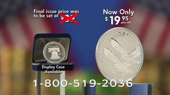 National Collector's Mint Silver Double Eagle $2 Coin TV Spot, 'The 2020 Public Release' - Thumbnail 8
