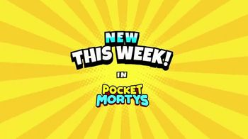 Pocket Mortys TV Spot, 'New Avatars: Charred Morty, Ventriloquiver Morty and Truckula Driver' - 32 commercial airings