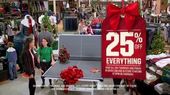 Dick's Sporting Goods Black Friday TV Spot, '25 Percent Off' - Thumbnail 3