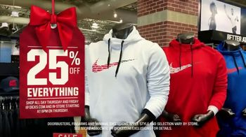 Dick's Sporting Goods Black Friday TV Spot, '25 Percent Off' - Thumbnail 4