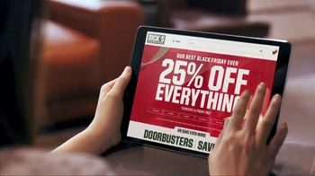 Dick's Sporting Goods Black Friday TV Spot, '25 Percent Off'