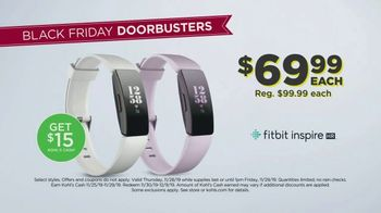 Kohl's Black Friday TV Spot, 'Diamond Bracelets, Tops and Fitbit' - Thumbnail 7