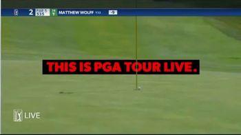 PGA TOUR Live TV Spot, 'Never Miss a Second'