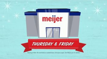 Meijer Black Friday Two Day Sale TV Spot, 'Twice as Nice' - Thumbnail 4