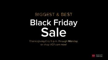 Value City Furniture Black Friday Sale TV Spot, 'Biggest & Best: Free Ottomans' - Thumbnail 6