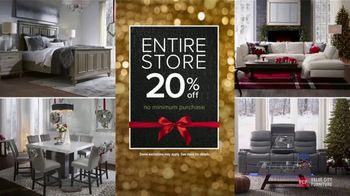 Value City Furniture Black Friday Sale TV Spot, 'Biggest & Best: Free Ottomans' - Thumbnail 1