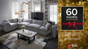 Value City Furniture Black Friday Sale TV Spot, 'Biggest & Best: Free Ottomans'