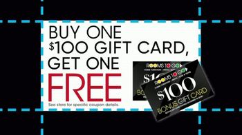 Rooms to Go TV Spot, 'Black Friday Doorbuster Coupons: 60 Months Interest Free' - Thumbnail 6
