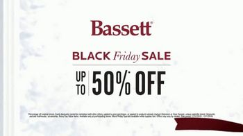 Bassett Black Friday Sale TV Spot, 'Accent Chairs, Dining Set and Recliners' - Thumbnail 7