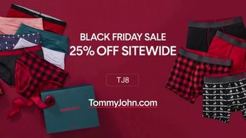 Tommy John Black Friday TV Spot, '25 Percent Off Sitewide'