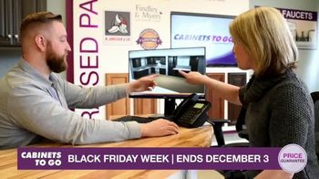 Cabinets To Go Black Friday Week TV Spot, 'Dream Kitchen and BOGO Cabinets' - Thumbnail 6
