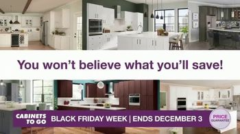 Cabinets To Go Black Friday Week TV Spot, 'Dream Kitchen and BOGO Cabinets' - Thumbnail 7