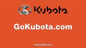Kubota TV Spot, 'Attention to Detail: Zero APR Financing' - Thumbnail 8
