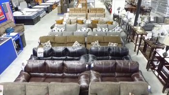 American Freight Black Friday 4 Day Sale TV Spot, 'Queen Mattress, Sofa and Table' - Thumbnail 1