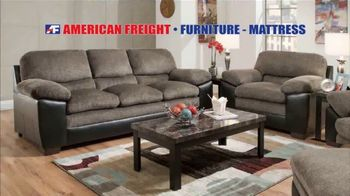 American Freight Black Friday 4 Day Sale TV Spot, 'Queen Mattress, Sofa and Table' - Thumbnail 4