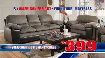American Freight Black Friday 4 Day Sale TV Spot, 'Queen Mattress, Sofa and Table' - Thumbnail 5