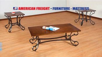 American Freight Black Friday 4 Day Sale TV Spot, 'Queen Mattress, Sofa and Table' - Thumbnail 6