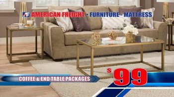 American Freight Black Friday 4 Day Sale TV Spot, 'Queen Mattress, Sofa and Table' - Thumbnail 7