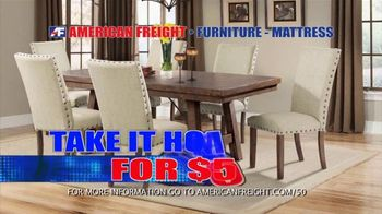 American Freight Black Friday 4 Day Sale TV Spot, 'Queen Mattress, Sofa and Table' - Thumbnail 9