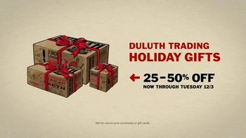 Duluth Trading Company TV Spot, 'Holiday: Night Before Gifting: 25 to 50 Percent Off' - Thumbnail 9