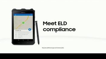 Samsung Galaxy Tab Active2 TV Spot, 'Connected Fleet Solutions: Delivery Service' - Thumbnail 10