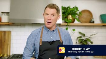 Food Network Kitchen App TV Spot, 'Bobby Flay Going Live'