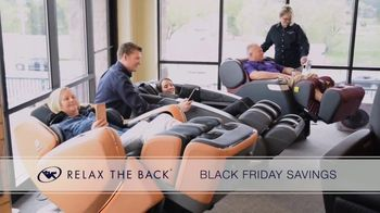 Relax the Back Black Friday Savings TV Spot, '15% Off Storewide'