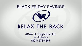 Relax the Back Black Friday Savings TV Spot, '15% Off Storewide' - Thumbnail 9