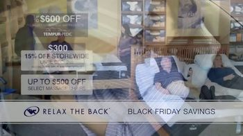 Relax the Back Black Friday Savings TV Spot, '15% Off Storewide' - Thumbnail 5