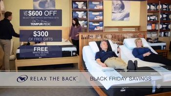 Relax the Back Black Friday Savings TV Spot, '15% Off Storewide' - Thumbnail 6