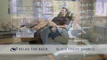 Relax the Back Black Friday Savings TV Spot, '15% Off Storewide' - Thumbnail 7