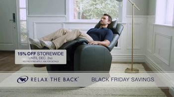 Relax the Back Black Friday Savings TV Spot, '15% Off Storewide' - Thumbnail 8