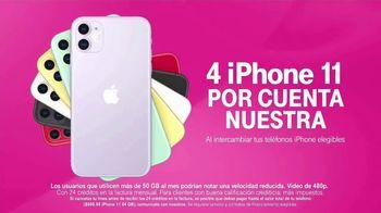 T-Mobile TV Spot, 'Nuevo iPhone 11 por cuenta nuestra' [Spanish] - Thumbnail 4