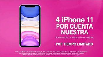 T-Mobile TV Spot, 'Nuevo iPhone 11 por cuenta nuestra' [Spanish] - Thumbnail 7