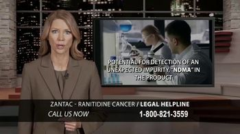 Chaffin Luhana TV Spot, 'Zantac/Ranitidine Legal Help' - Thumbnail 2