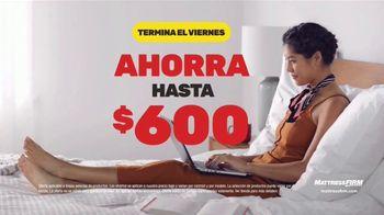 Mattress Firm Venta de Black Friday TV Spot, 'Apresúrate' [Spanish]