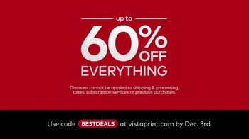 Vistaprint TV Spot, 'Black Friday and Cyber Monday Deals: Everything for Your Business'