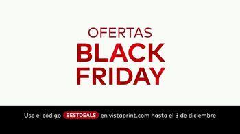 Vistaprint TV Spot, 'Ofertas de Black Friday y Cyber Monday' canción de Wendy Child [Spanish] - Thumbnail 1