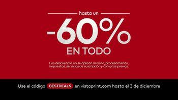Vistaprint TV Spot, 'Ofertas Black Friday and Cyber Monday Best Deals' [Spanish]
