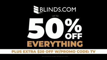 Blinds.com Black Friday Blowout TV Spot, '50 Percent Off Everything' - Thumbnail 6