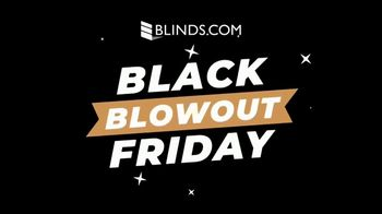 Blinds.com Black Friday Blowout TV Spot, '50 Percent Off Everything'