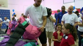NBA Cares TV Spot, 'Season of Giving' Featuring Kemba Walker - Thumbnail 4