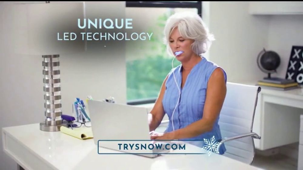Snow Bio Labs TV Commercial, 'A Revolutionary New Way to Whiten Your Teeth'